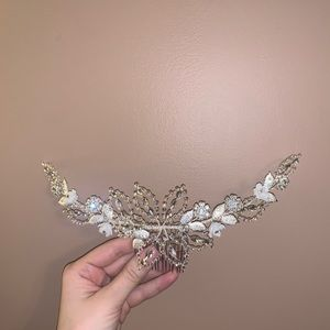 Handmade hairpiece